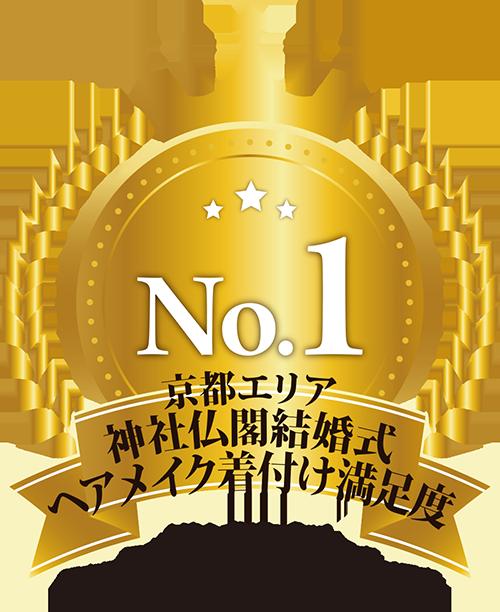 京都エリア神社仏閣結婚式ヘアメイク着付け満足度 No.1
